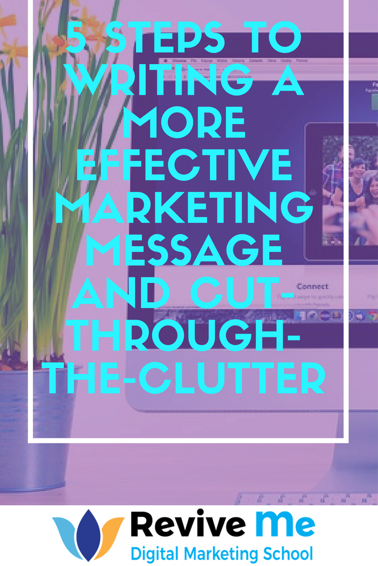 cutting through the clutter essay Cause a scene guerrilla marketing can have a big impact on a brand's ability to cut through the clutter march 16, 2018 by chris warren guerrilla marketing is not novel, but in a digital age, it can have a big impact on a brand's ability to cut through the clutter.
