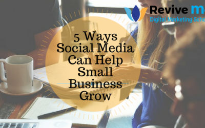 5 Ways Social Media Can Help Small Business Grow
