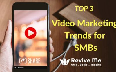 Top three Video Marketing Trends that should be a part of your marketing toolbox!