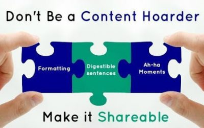 Create amazing content that is shareable