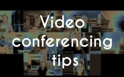 Video Conferencing Tips for Online Meetings or Classes